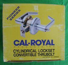 Cal-Royal Sl-30 Pioneer Series Convertible Passage Cylindrical Lockset - Bronze