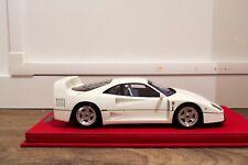 1/18 BBR Ferrari F40 white