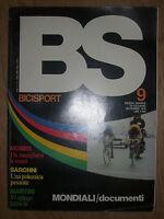 BS / BICISPORT N.9 DEL SETTEMBRE 1978 - POSTER MARTINI (OK3)