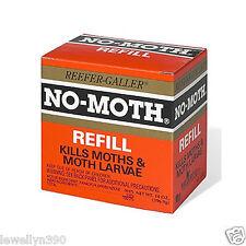 """NO-MOTH CLOSET HANGER REFILL  """"NO MOTH""""  REEFER GALLER"""