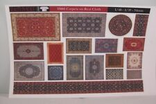 Reality In Scale 35001 Carpets on real cloth 1:35 scale diorama accessories