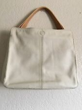 TODS Authentic Beige Handbag Made In Italy