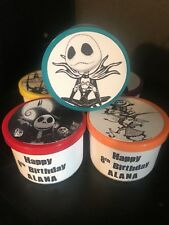 8 Nightmare Before Christmas Birthday Party Favors Gifts Play Dough