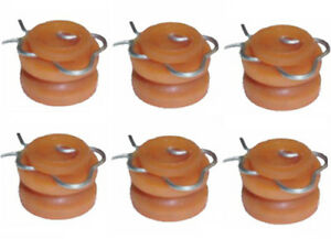 1959-1970 FITS FORD LINCOLN MERCURY WINDOW REGULATOR ROLLERS (6pc) FREE SHIP
