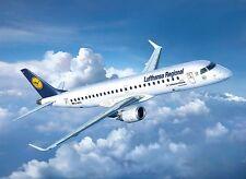 REVELL 03937 LUFTHANSA Embraer 190 AEREI KIT SCALA 1/144 - cingolati 48 POST