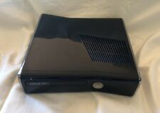Microsoft Xbox 360 S 250GB Glossy Black Model #1439 Console Only