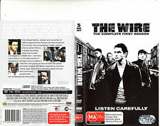 The Wire-2002/8-TV Series USA-The Complete First Season-[5 Disc Set]-DVD