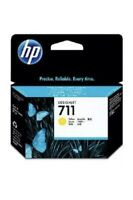 Genuine HP711 Yellow CZ132A Ink Cartridge For HP DESIGNJET T120, T520, Exp 2021