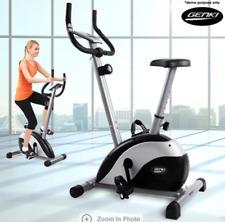 Genki Magnetic Upright Stationary Fitness Exercise Bike - 5KG  Flywheel