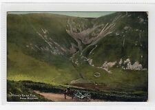 THE DEVIL'S BEEF TUB near MOFFAT: Dumfriesshire postcard (C8880)
