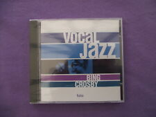 Bing Crosby - Vocal Jazz. New/Sealed CD Album.