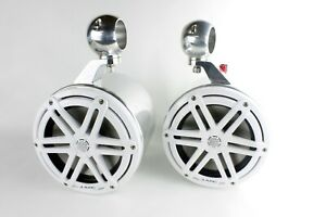 "JL Audio 7.7"" Marine Wakeboard Tower Speakers & Cans-NEW!"