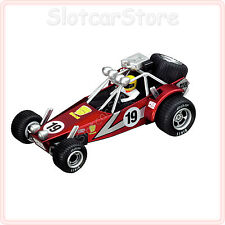"Carrera GO 61233 Dune Buggy No.19 ""rot"" (red) 1:43 Slotcar Auto auch GO Plus"