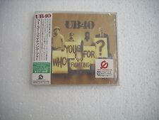 UB40 / WHO YOU FIGHTING FOR  - JAPAN CD SEALED