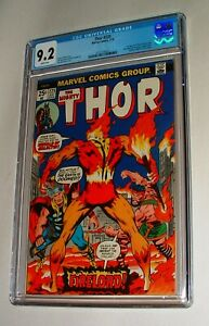 1974 MARVEL MIGHTY THOR ISSUE #225 COMIC BOOK CGC 9.2 STUNNING FIRST FIRELORD