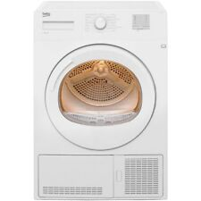 Beko DTGC8011W B Rated 8Kg Condenser Tumble Dryer White