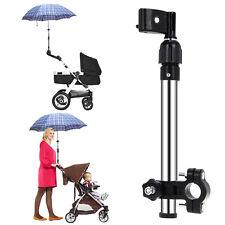 Adjustable Baby Stroller Pram Umbrella Stand Holder Push Pull for Golf Club Bike