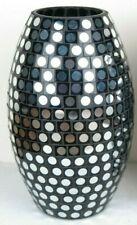"Decorative Glass Vase Mirella Collection 9""H - New"