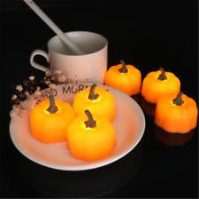 LED Pumpkin Lights Flickering Night Light Home Decor Happy Halloween Decoration