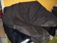 Ikea Ektorp Bezug für 2er Couch : Bezug in schwarz