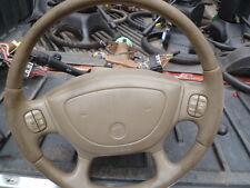 X1047 2003 Buick steering column century tilt tan oem stereo controls