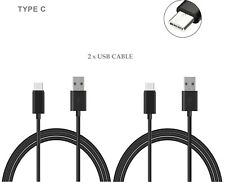 2x OEM USB-C Type C Fast Charging Data Cable For HTC Wildfire X