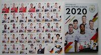 Rewe DFB EM 2020 Komplett Set alle 35 Sammelkarten + Sammelalbum Karten Neu