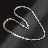 Halskette Edelstahl Kette Poliert Silber Edelstahlschmuck Armband ._