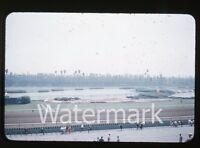 1950s Kodachrome Photo slide Hollywood Park Horse Racing Los Angeles CA  #1