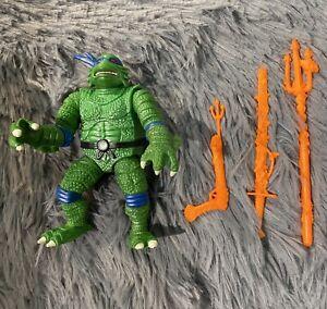 TMNT Universal Monsters Creature Black Lagoon LEO 1994 Orange Weapons See Pics!