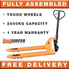 More details for loadsurfer 2500kg pallet truck hand pump jack trolley assembled 1 year warranty