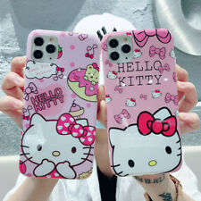 Cartoon Hello Kitty Soft TPU Phone Case For iPhone 11 Max X XR Xs 6s 7 8 SE 2020