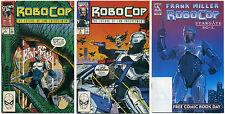 LOT OF 3 ROBOCOP COMICS, Marvel 1990 #7 & #9, Avatar FCBD Stargate SG1 Species