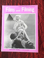FILMS AND FILMING - UK MOVIE MAGAZINE - JAN 1959- ROSALIND RUSSELL-CECIL BEATON