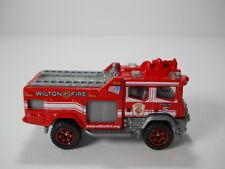 Matchbox Wilton Fire Engine # 5 Blaze Blitzer Fire Truck 1/64 Scale JC45