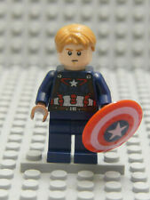 Captain America - Detailed Suit  SHIELD 76042  REAL Lego Minifigure
