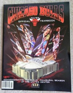 Chicago Bulls 1994/1995  Team Yearbook New