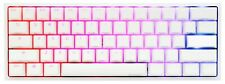Ducky one 2 mini (white) limited edition. cherry mx red switches