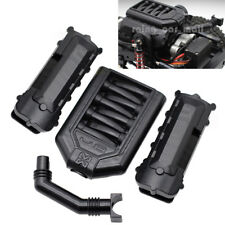 Engine Cylinder Head Valve Cover for 1/10 RC Jeep Wrangler Land Rover TRX-4 Cars