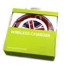 Chargeur sans fil à induction QI drapeau anglais pour APPLE Iphone 8 Plus