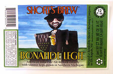 Short's Brew BONAFIDE LEGIT beer label MI 12oz STICKER
