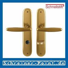 Hoppe Verona Aluminium F4 Alu Bronze Langschild 1510/273P Bad WC Garnitur SK/OL