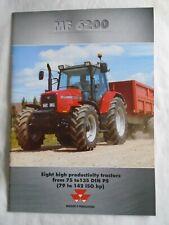 Massey Ferguson MF6200 Tractors range brochure 2001