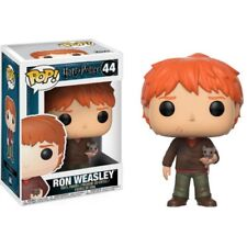Funko Pop Movies Harry Potter S4 - Ron Weasley With Scabbers
