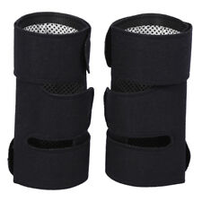 2pcs Self-heating Tourmaline Pad Magnetic Therapy Knee Support Belt Massager US