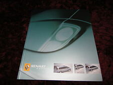 Renault Espace Brochure 2005 - Aug 2004 Issue