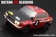 ABC-Hobby DATSUN 510 Bluebird carrosserie-set 1:10 Mini rally version (66319)