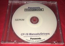 Panasonic Toughbook CF-19 Manuals / Drivers / BIOS AND MORE!! (DVD) RATED #1