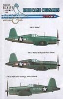 Eagle CAL 1/72 f4u-1 Birdcage Corsairs PARTE 2 #72151
