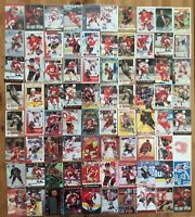 CALGARY FLAMES  --- Lot of 80 INSERT cards